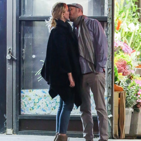 ​Jennifer Lawrence and Darren Aronofsky Kissing in NYC 2016