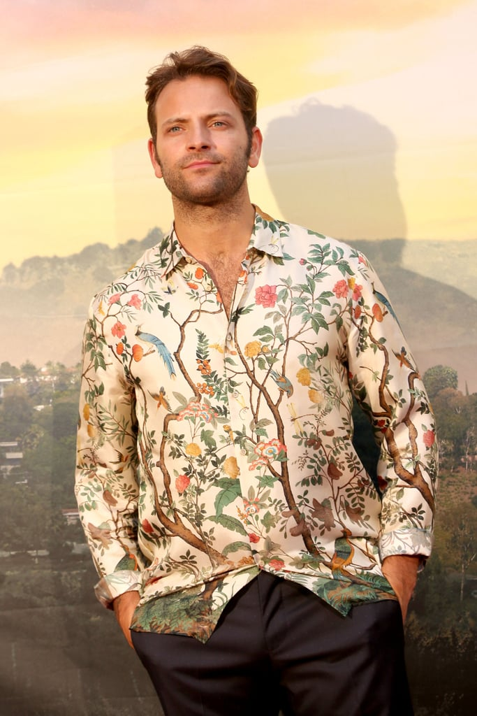 Alessandro Borghi at the Once Upon a Time in Hollywood premiere in Rome.