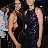 Katy Perry and Selena Gomez smiled at the Snowflake Ball in NYC.