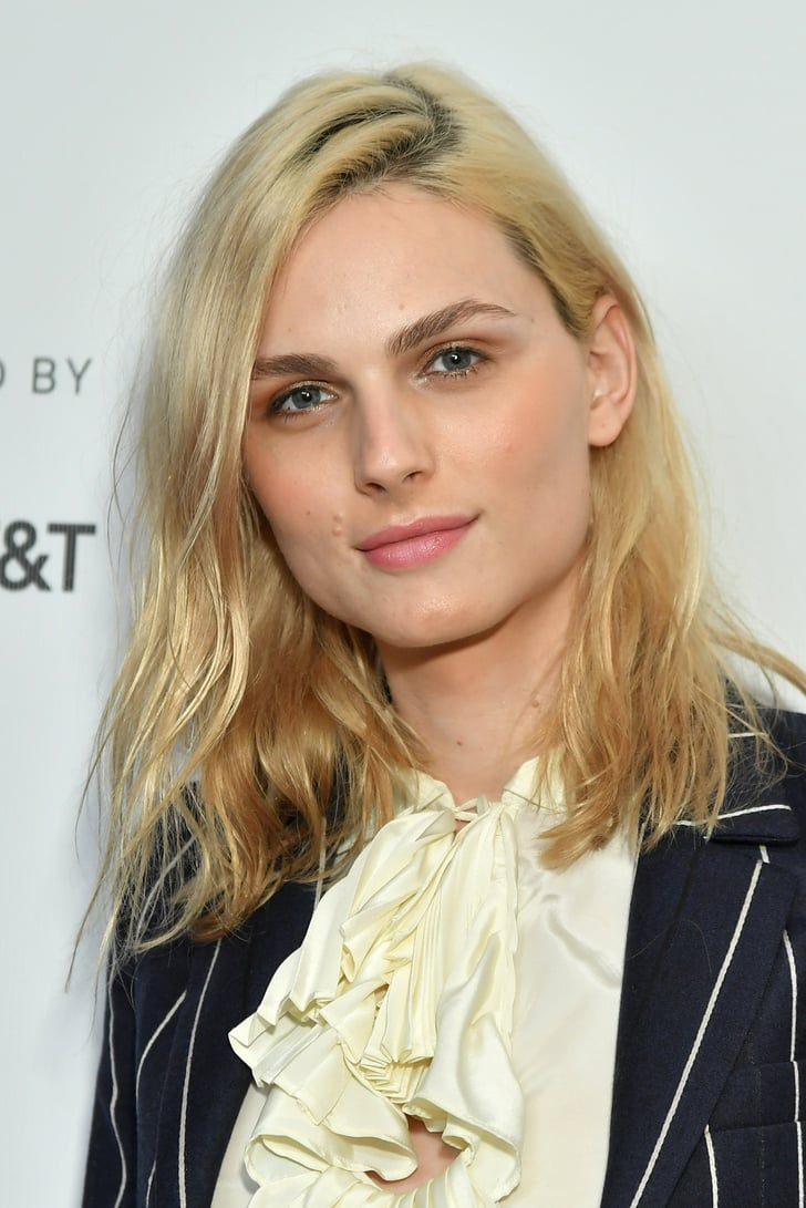 Andrej Pejic Dons Womenswear, Wrestles With Female Model ...