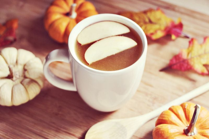 Spiked Hot Maple Cider