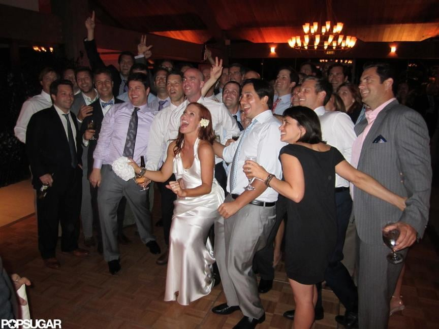 Elisa Donovan and Charlie Bigelow married.  Photos courtesy Scott Robert