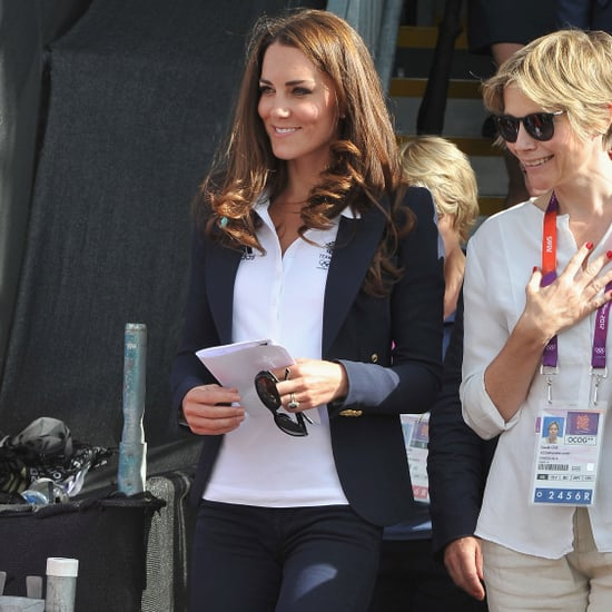 Kate Middleton and Prince William Pictures Watching Zara Phillips at 2012 Olympics