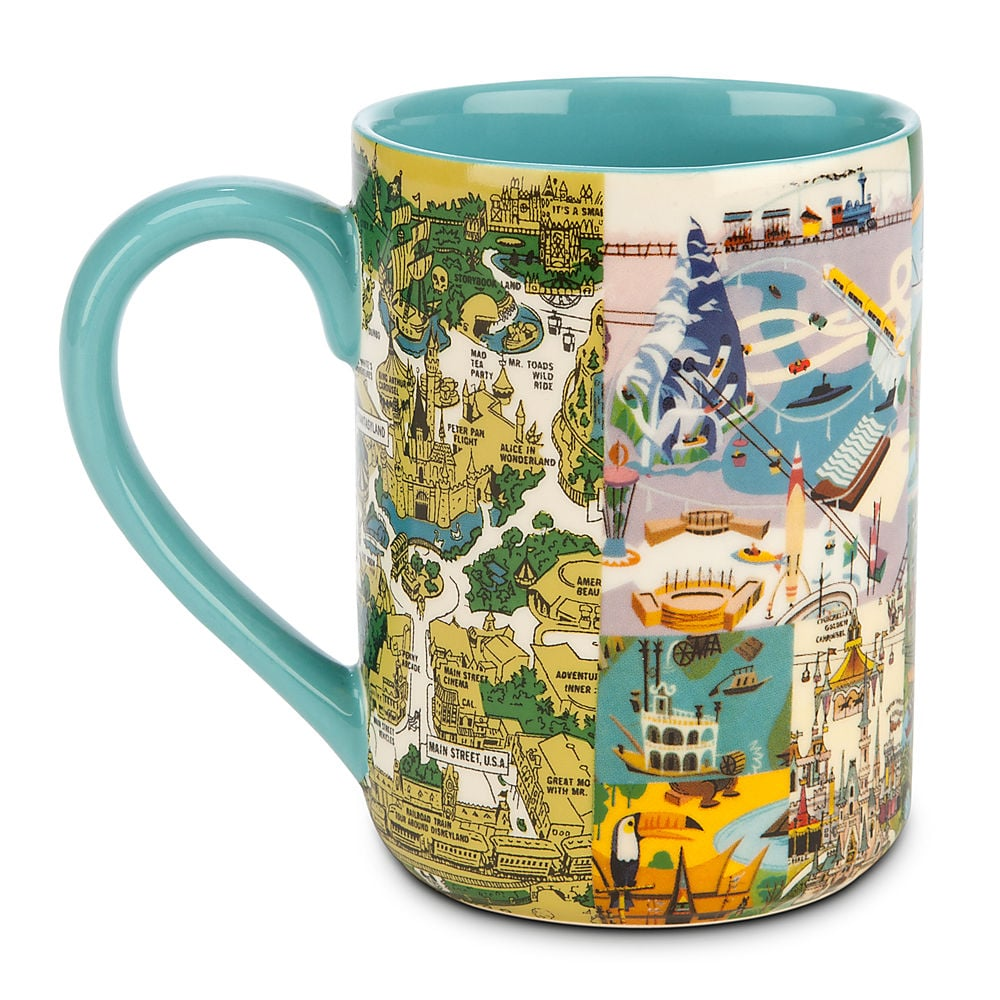 Disney Magic Kingdom Map Mug | Disneyland Gifts For Adults ...