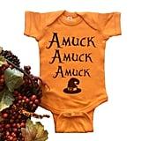 Amuck Amuck Amuck Onesie