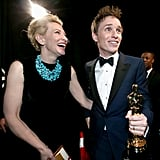 Cate Blanchett and Eddie Redmayne