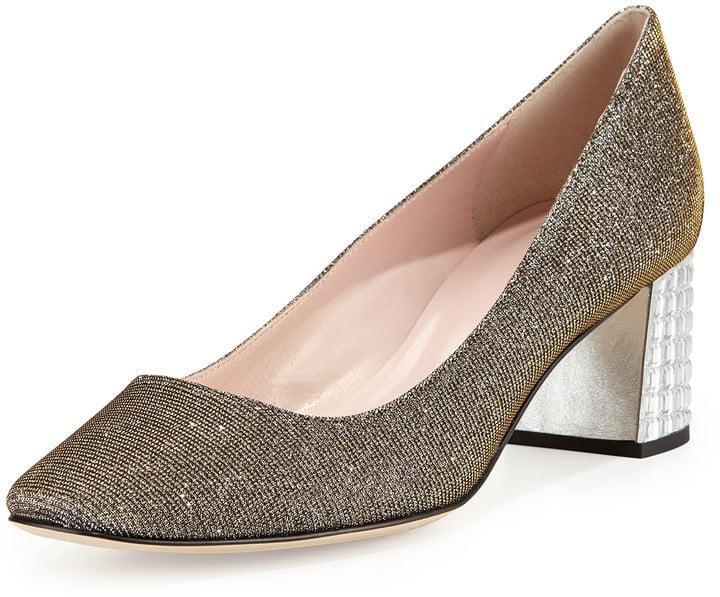 Kate Spade Danika Too Block-Heel Pump ($350)
