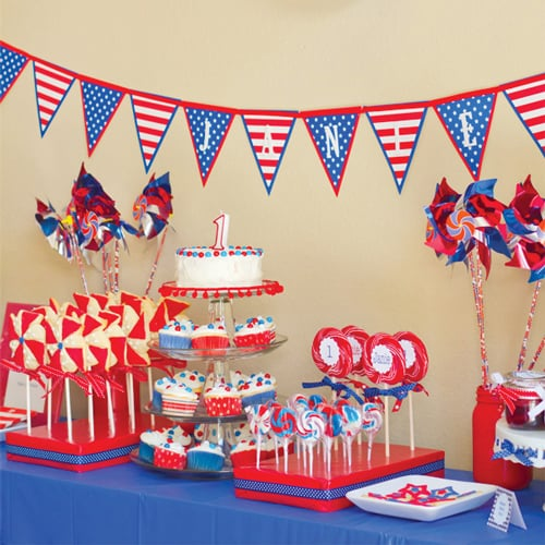 Fourth Of July Birthday Party Ideas POPSUGAR Moms