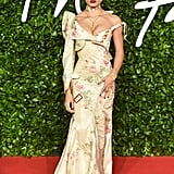 Adwoa Aboah at the British Fashion Awards 2019