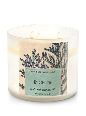 Incense candle ($25)