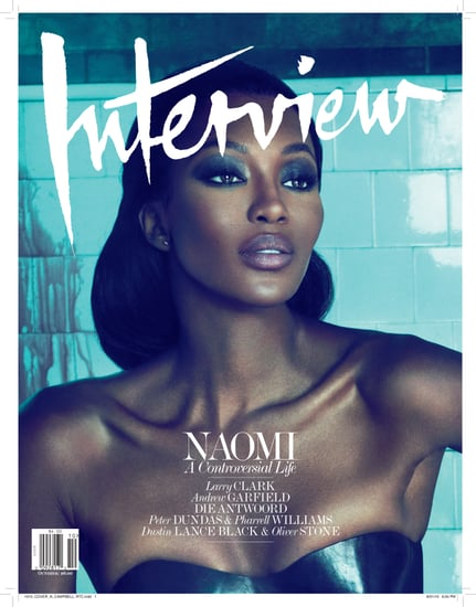 "Naomi Campbell, Kate Moss Rumored to Have Fallen Out; Plus, Naomi Talks to Interview October 2010 About Being ""Controversial"""