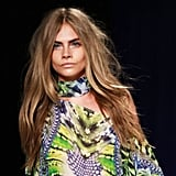 September 2012: Spring Summer Milan Fashion Week Cavalli