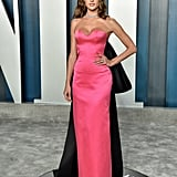 Alessandra Ambrosio at the Vanity Fair Oscars Afterparty 2020