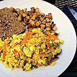 Quinoa and Tofu Scram