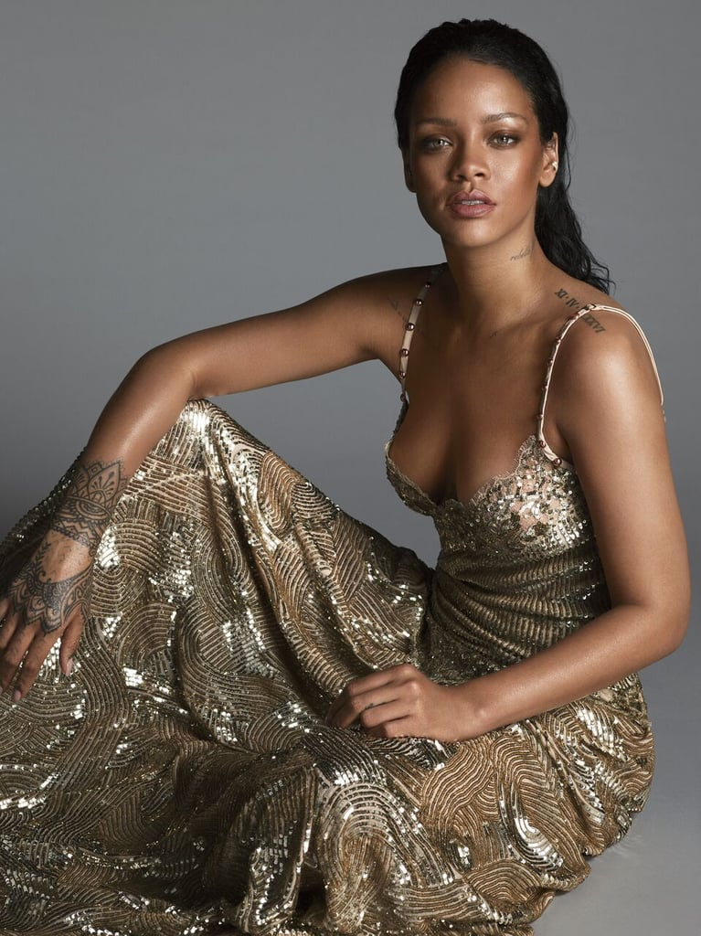 """On whether or not she's looking for a relationship: """"My schedule is so crazy right now. It's definitely going to be a challenge when I do decide to pursue a relationship . . . but I have hope!"""" On why she wanted to take a break after her Unapologetic tour in 2013: """"I wanted to have a year to just do whatever I want artistically, creatively. I lasted a week."""" On her new sound: """"I just gravitated toward the songs that were honest to where I'm at right now. It might not be some automatic record that will be Top 40. But I felt like I earned the right to do that now."""""""