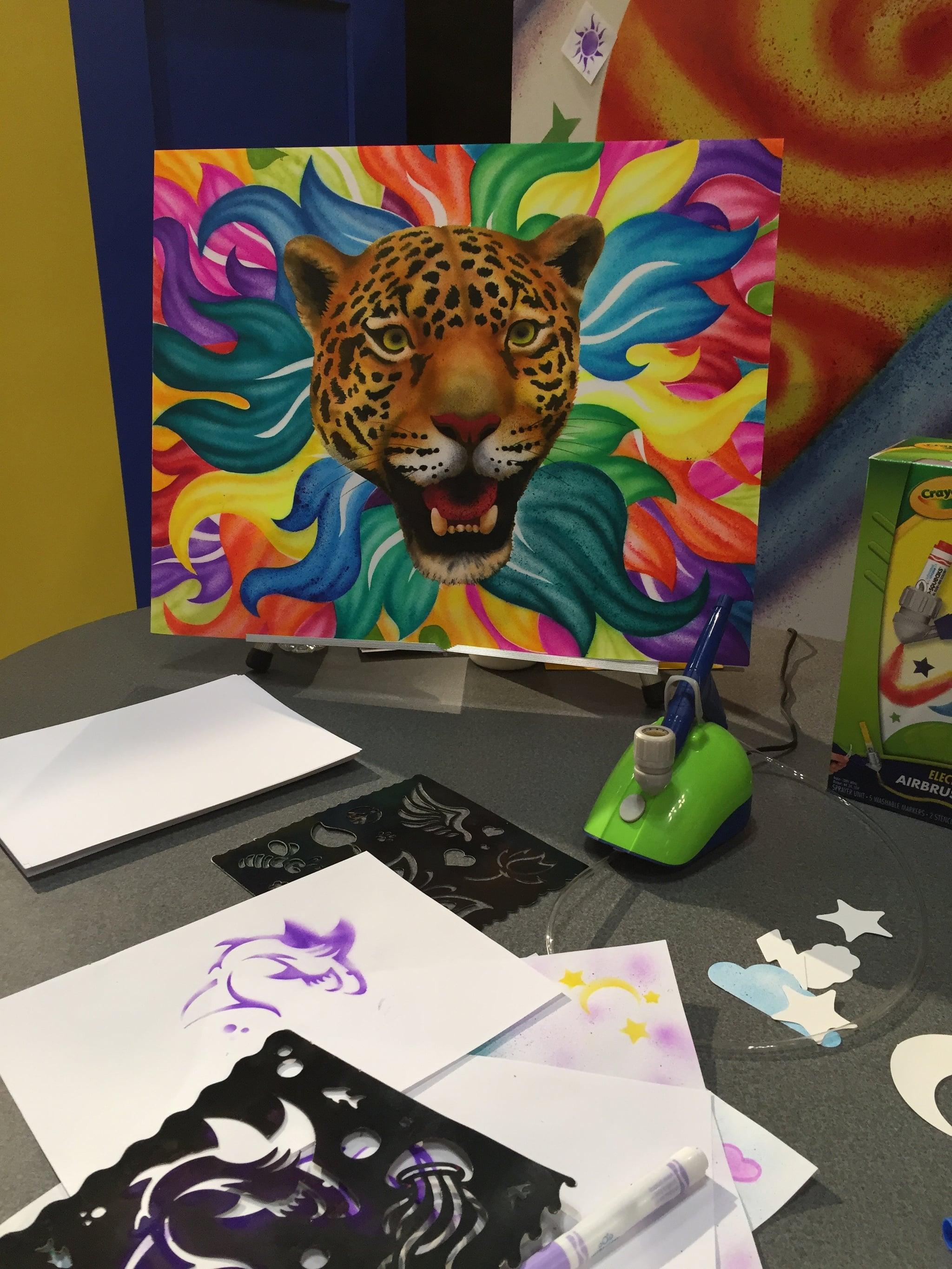 Crayola Air Marker Sprayer See All 170 Brand New Toys