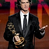 Game Change director Jay Roach accepted an Emmy for the miniseries.