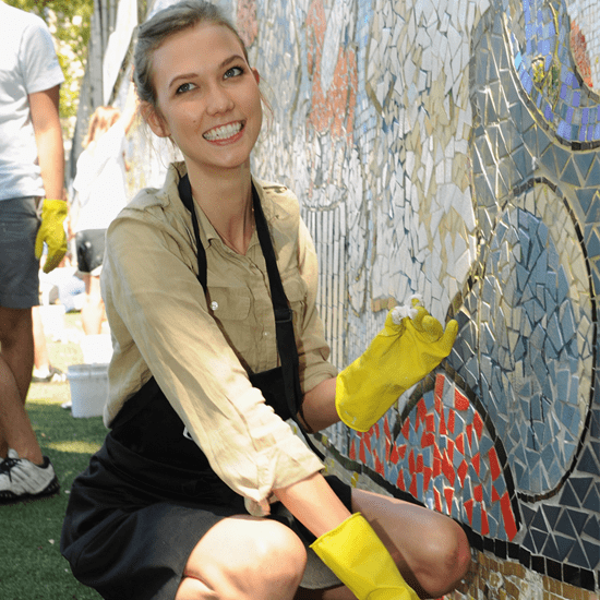 Karlie Kloss Interview at Bing Summer of Doing Event