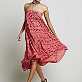 Free People Washed Ashore Strapless Dress
