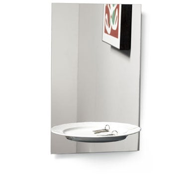 """Love It or Hate It? """"Half a Portion"""" Mirror with Shelf"""