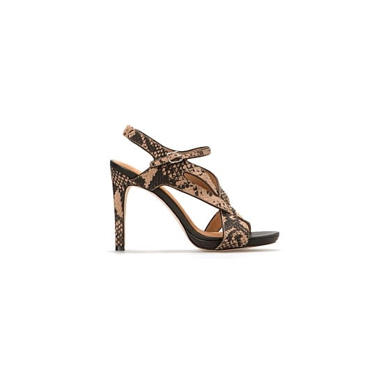 979f5b4135 These strappy heels fuel my current obsession with snakeskin, and the