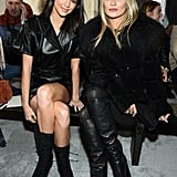 Kendall Jenner and Kate Moss at Longchamp Fall 2019