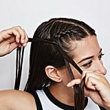 Double Dutch French Braids: Step 2