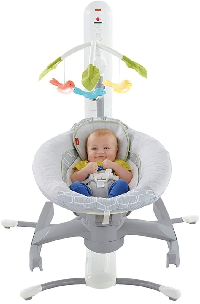 Fisher-Price 4-in-1 Smart Connect Cradle 'n' Swing