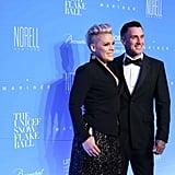 Pink and Carey Hart at UNICEF Snowflake Ball 2015