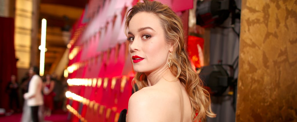 Brie Larson Looked Like the Most Elegant Disney Villain at the Oscars