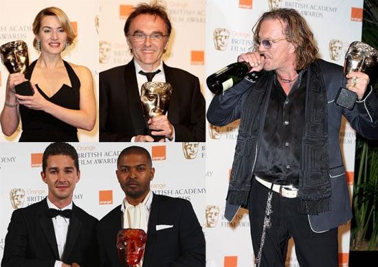 08/02/2009 Baftas 2009 The Winners