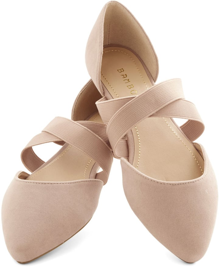 Modcloth Oh Strappy Day Flat ($30)
