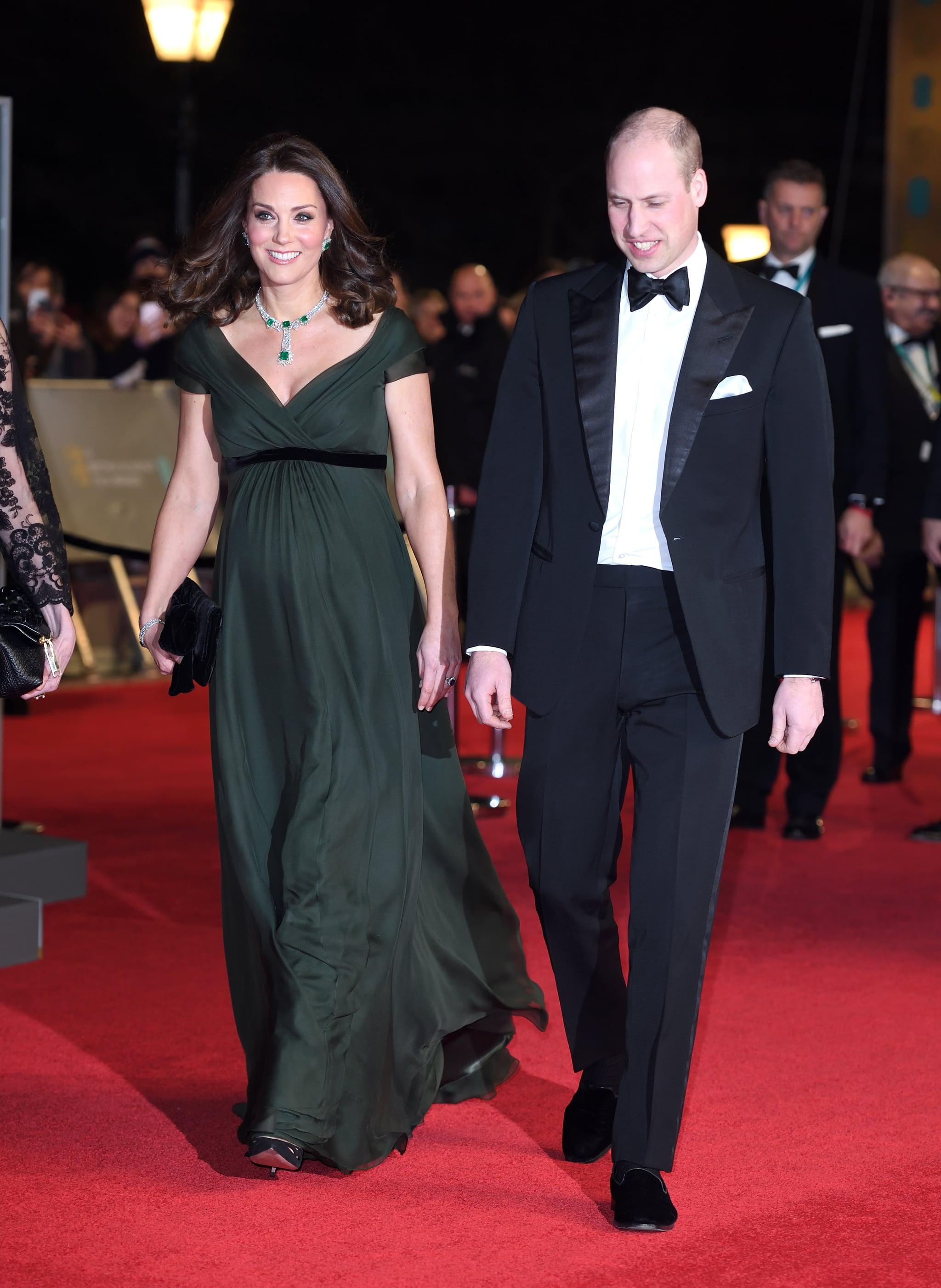 Why Didn\'t Kate Middleton Wear Black to the BAFTA Awards? | POPSUGAR ...