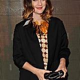 Drew Barrymore partied at H&M's Marni launch.