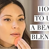 How to Use a Beautyblender With Marianna Hewitt
