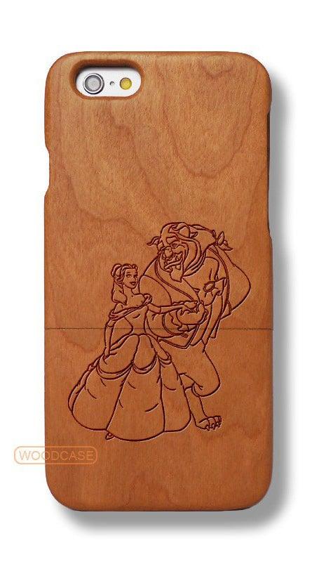 Belle and Beast Sapele Wood Case ($18, originally $28)