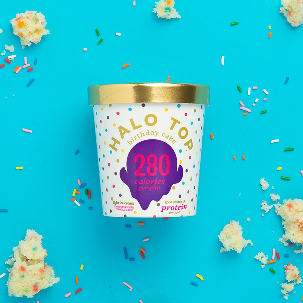 Halo Top Light Birthday Cake Ice Cream