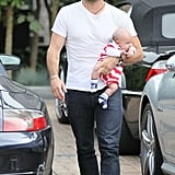 Jamie Mazur and Noah headed into the market in LA.