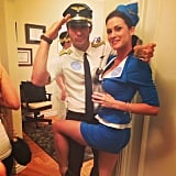 Pilot and Stewardess