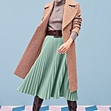 Halogen® x Atlantic-Pacific Belted Herringbone Coat
