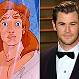 Prince Adam — Chris Hemsworth