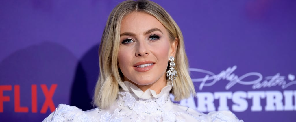 Julianne Hough Shows Off Her Natural Hair Brown Colour