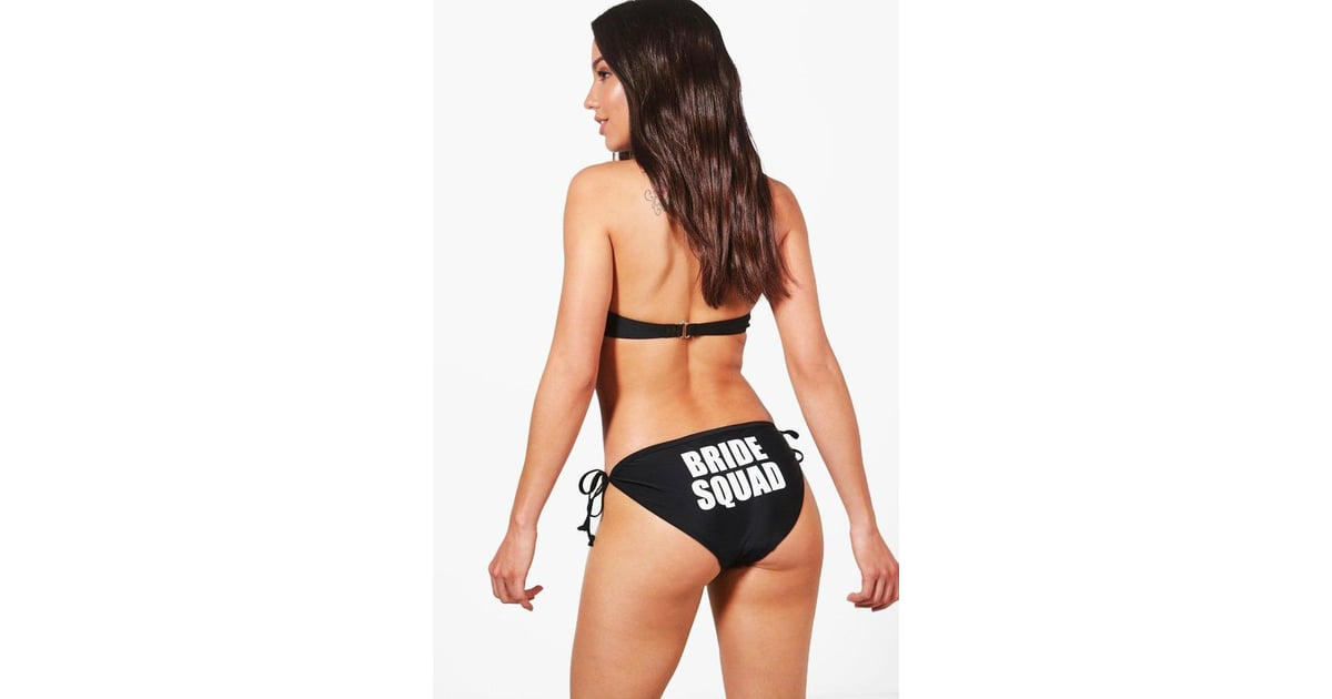 7f216d81c54d7 Boohoo Durban Bride Squad Bikini Brief   Bachelorette Party Swimsuits    POPSUGAR Fashion Photo 8