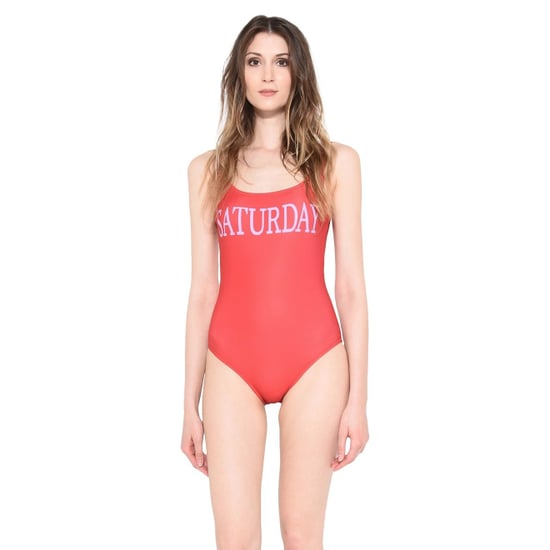 Alberta Ferretti Days of the Week Swimsuits