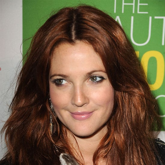 Drew Barrymore Debuts New Red Hair Colour at The Beauty Detox Solution Book Launch