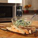 Vegetarian Appetizers: The Easiest Microwave Spinach Artichoke Dip We've Ever Made