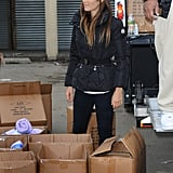 Jessica Biel and Justin Timberlake Help With Sandy Relief