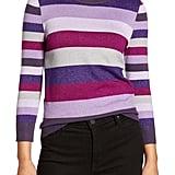 Halogen x Atlantic-Pacific Metallic Sweater