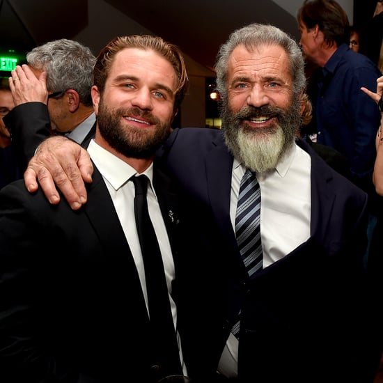 Mel Gibson and Son at Hacksaw Ridge Premiere October 2016