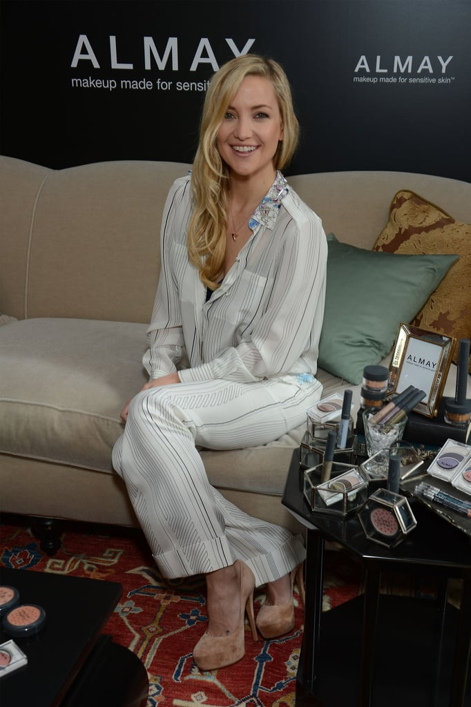 Kate Hudson showed off Phillip Lim's gorgeous pajama-inspired separates at an event for Almay in NYC.
